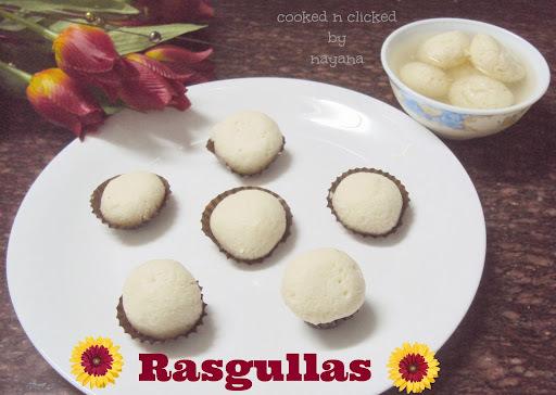 Rasgullas ( Bengali Sweet )