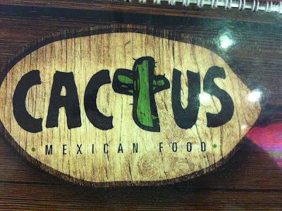 Comida Mexicana no Cactus!