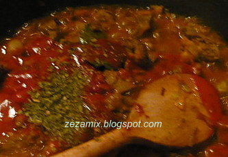 Pileća jetrica s povrćem