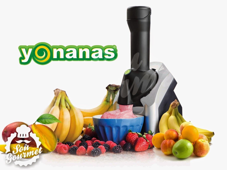Yonanas - Sorvete natural apenas com frutas em casa!