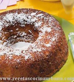torta facil de vainilla sin manteca