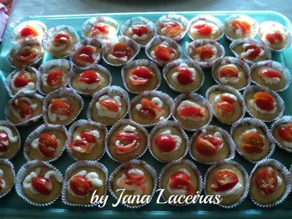 Cupcake salgado: Jana Laceiras