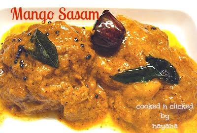 Ambe Sasam ( Mango Sasam )