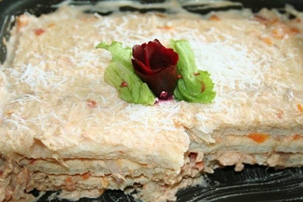 Torta de pão de forma