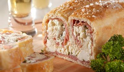 Pão do Papai - Pão de Ricota com Salame