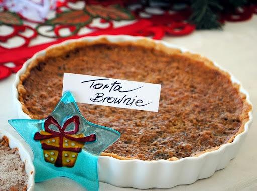 Para uma Noite Feliz - Torta de Cookie de Chocolate