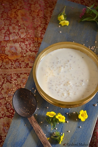Paal Payasam/ Milk Pudding