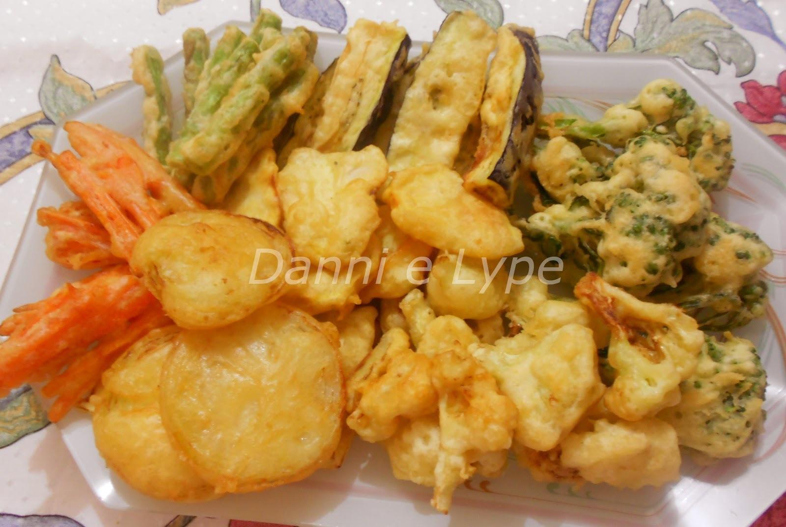 tempura de legumes com tempurako