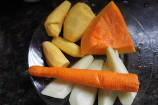 Papinha Vegetariana - Segunda sem carne
