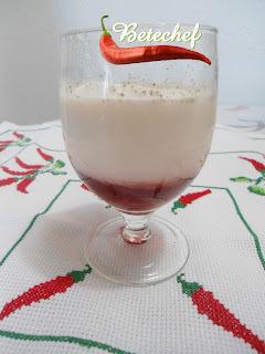 Iogurte Caseiro com Calda Morango (By Betechef)