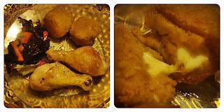 Camote BOMB!!! con Pollo a la Naranja... A la Paula ;)