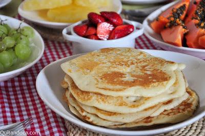 Panquecas para o café da manhã