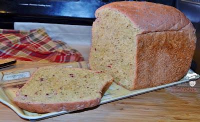 Pão de Beterraba com Semente de Chia