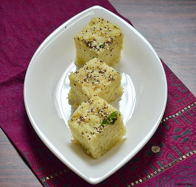 Rava dhokla recipe - Easy and healthy Indian breakfast recipes
