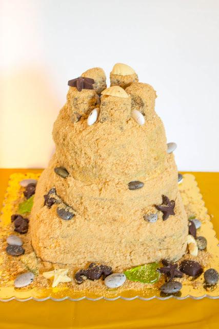 Τούρτα - Κάστρο στην άμμο
