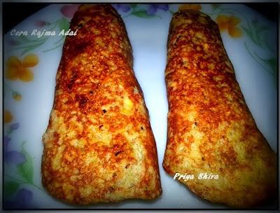 Corn Rajma Adai