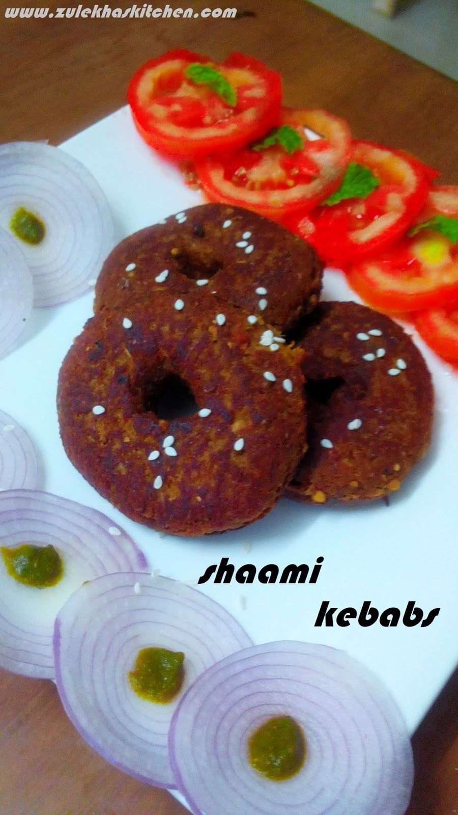 Shaami kebab Recipe
