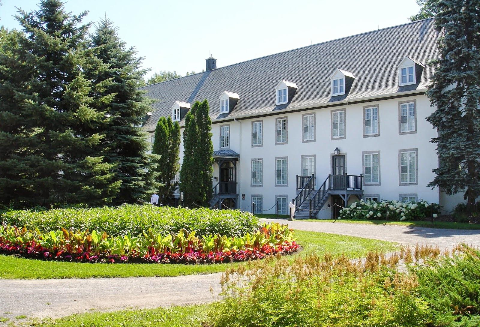 Visite au Domaine de Maizerets et chez Ôm Prana à Québec