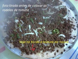 pizza com fermento biologico seco