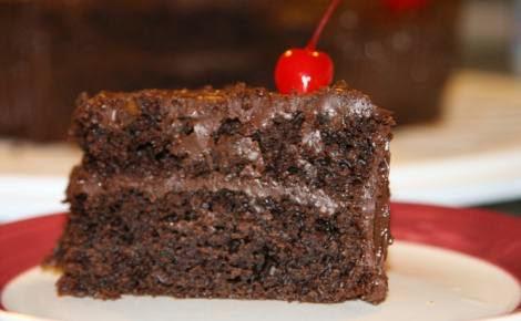 pasteles de chocolate