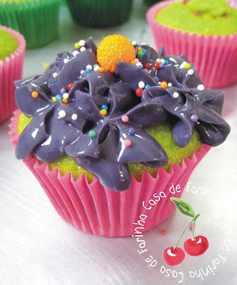 Cupcakes Shrek e Fiona
