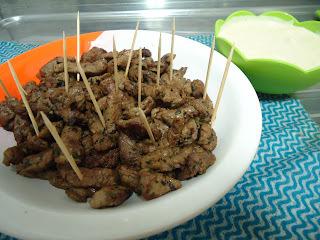 Receita: Filet mignon aperitivo com molho de gorgonzola