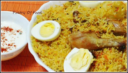 Hyderabadi Murg Dum Biriyani...!!!