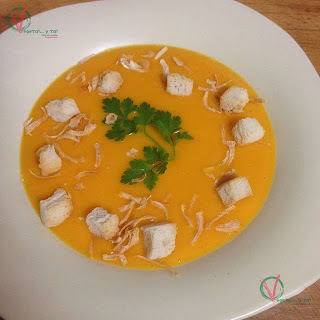 Crema de zanahorias (SO 178)