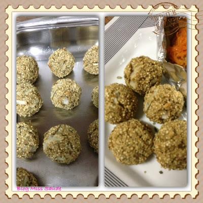 Bolinho Simples de Quinoa com orégano!
