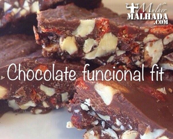 Receita de Chocolate Funcional Fit