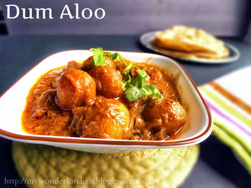 Dum Aloo| An exotic Potato gravy | Tribute to Tarla Dalal & Nelson Mandela