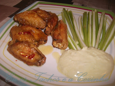 Buffalo Wings (Asas de galinha à moda de Buffalo)