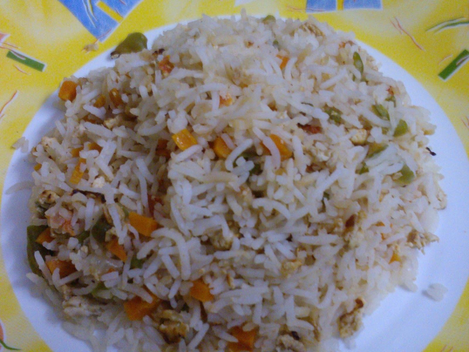 Egg-Vegetable Rice