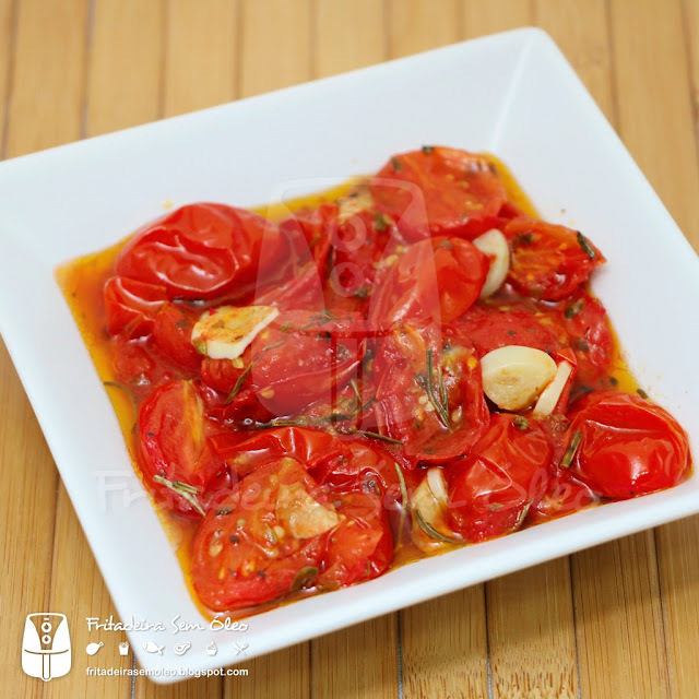 Tomatinhos Confit na AirFryer
