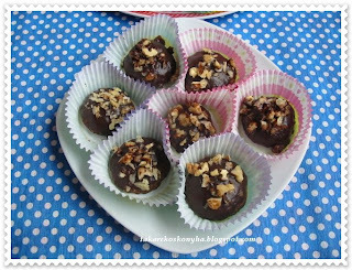 Csokis-diós puffancs