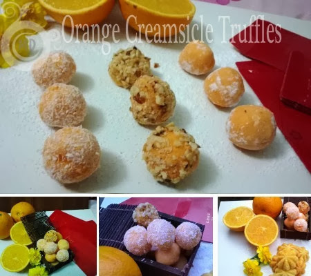 Orange Truffle_Pineapple Mini Cakes