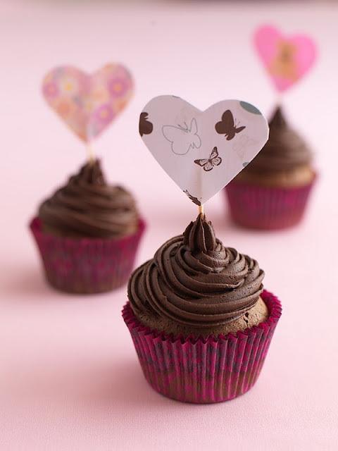 Chocolate Truffle Cupcake, and a cupcake workshop at Taste Matakana