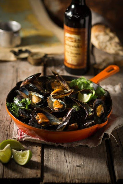 Undinian Mussels with Sedgwick's Original Old Brown