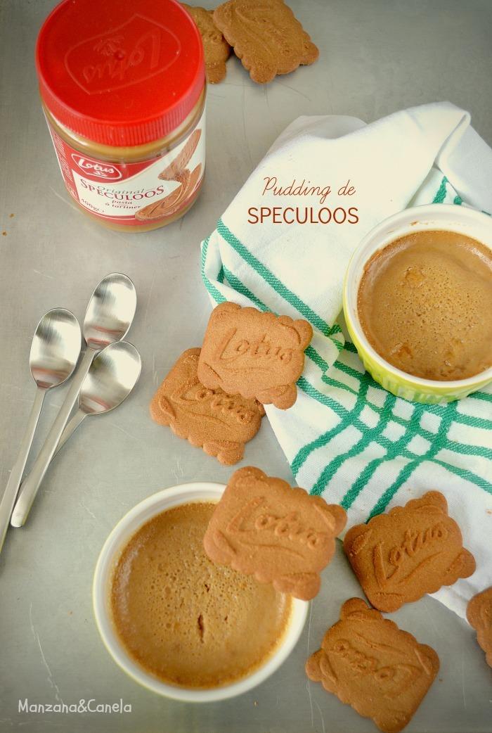Pudding de galletas Speculoos