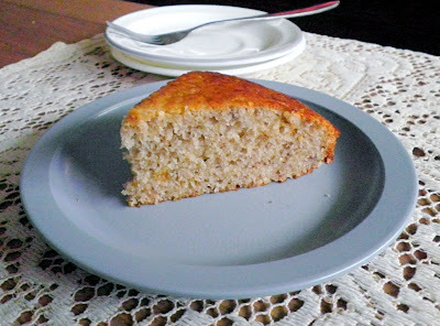 LOW FAT BANANA CAKE (EGGLESS)