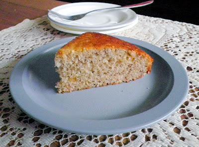 LOW FAT BANANA CAKE (EGGLESS)