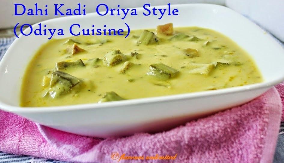 Dahi Kadi in Full Oriya Style