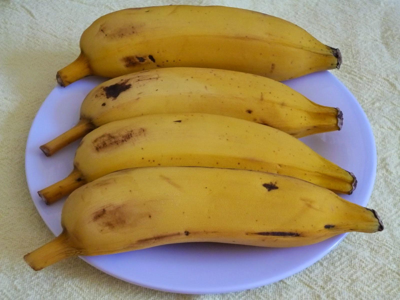 tenho muita banana madura o que