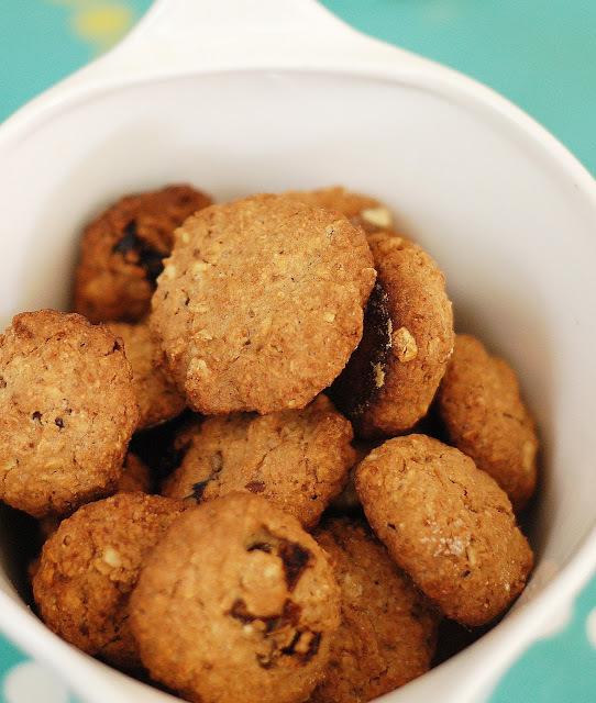 biscoito integral aveia castanha