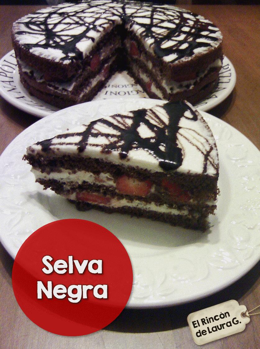 Tarta de Chocolate Selva Negra