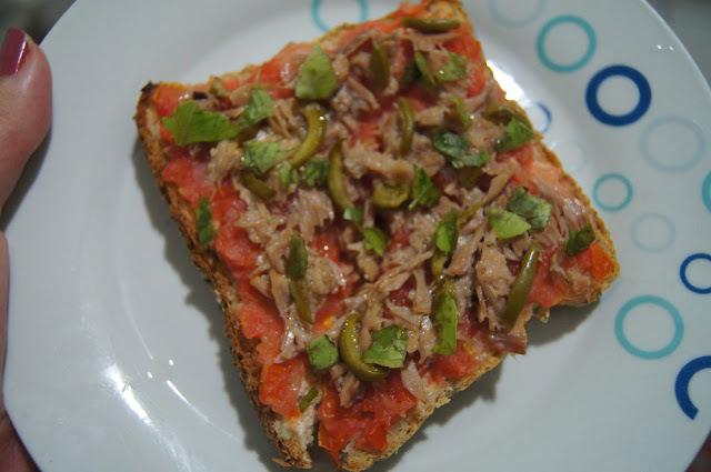 Torta (Fatia) Pão de Atum Light (receita completa)