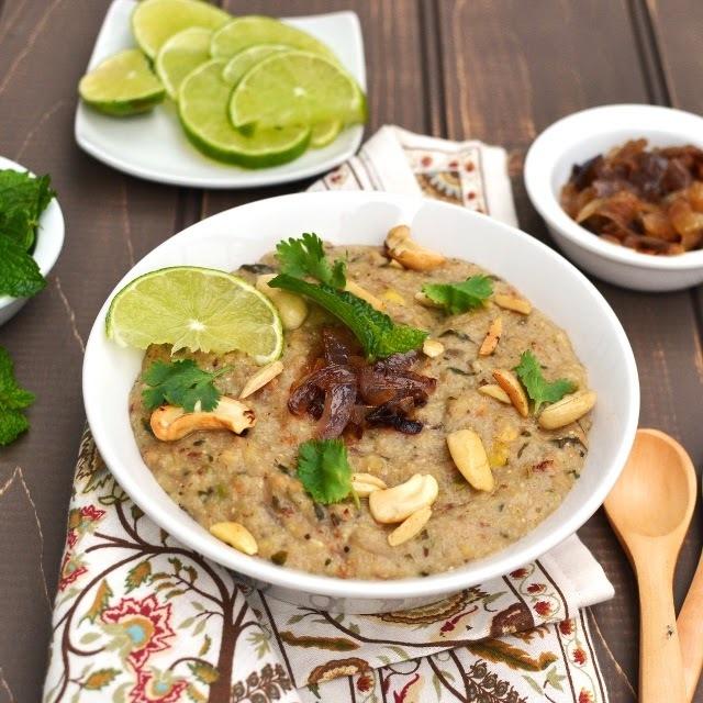 Haleem/ Vegetarian Haleem Recipe