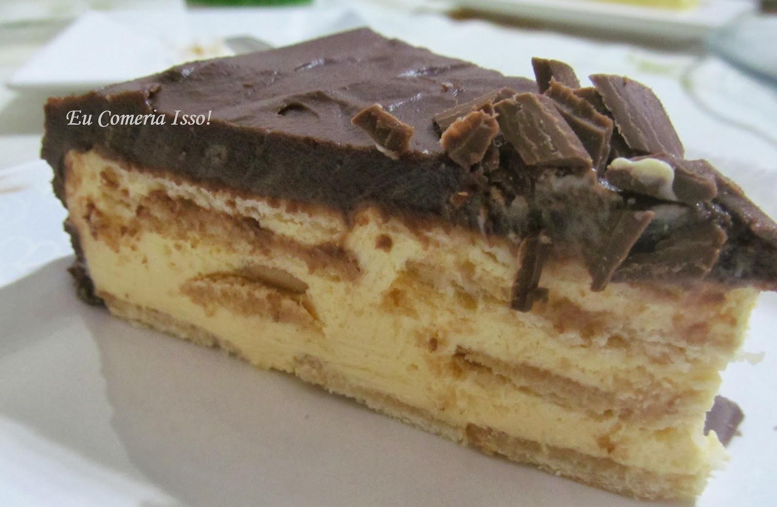Torta de Chocolate e Maracujá II