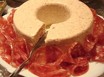 mousse de salaminho com maionese