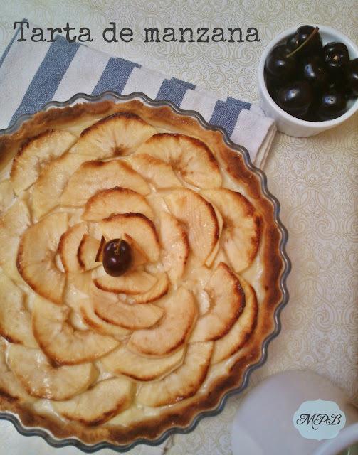 Tarta de Manzana fácil y riquísima.